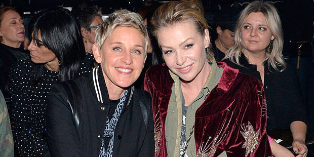 Ellen DeGeneres and Portia de Rossi don't think it is always fair to raise children in the spotlight. Photo / Getty Images