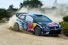 Sebastien Ogier during the WRC Portugal on May 21. Photo / Getty Images