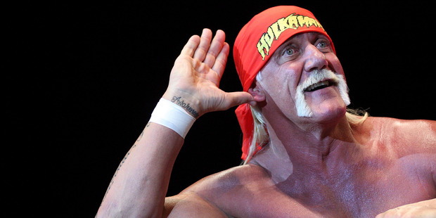 The Hulk Hogan damages US$140 million payout prompted the Gawker sale. Photo / Getty Images