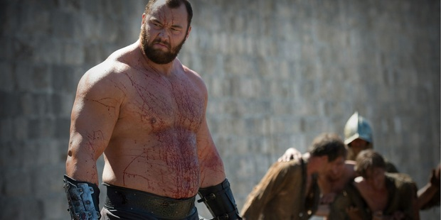 Thor Bjornsson plays The Mountain in Game of Thrones.