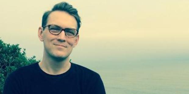 Author Patrick Flanery.