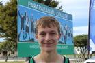 FIRST PLACE: Stefan Przychodzko won the College Sport Wellington senior boys cross-country race.