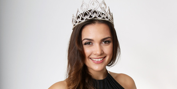 Karla de Beer, 22, has been crowned Miss World New Zealand. Photo / Alex Tee