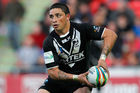 Kevin Locke playing for the Kiwis in 2013. Photo / Getty