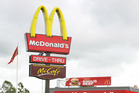 The armed men burst into a McDonald's in the commune of Ecole-Valentin. Photo / File