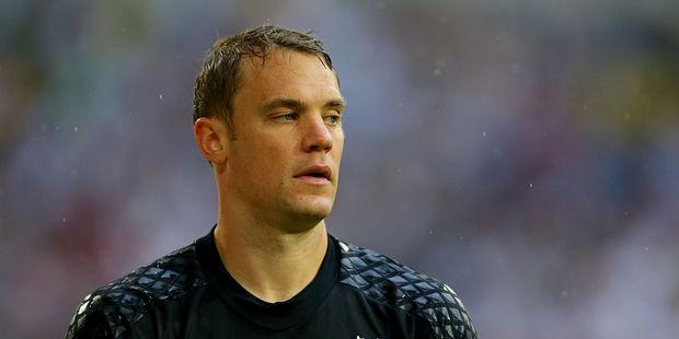 German goalkeeper Manuel Neuer. Photo / Getty