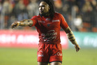 Ma'a Nonu of Toulon in action during the European Champions Cup match between Racing Club de Toulon (RCT) and Bath Rugby. Photo / Getty Images.