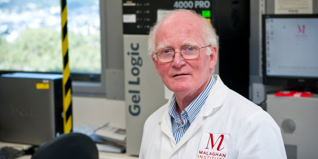 Professor Mike Berridge of the Wellington-based Malaghan Institute. Photo / Malaghan Institute