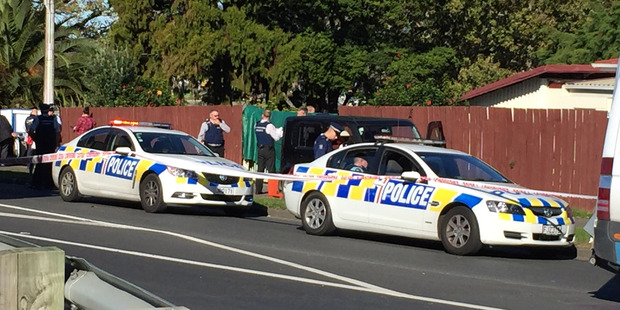 Police attended the incident on June 2 when the young girl was shot. Photo / Susan Strongman