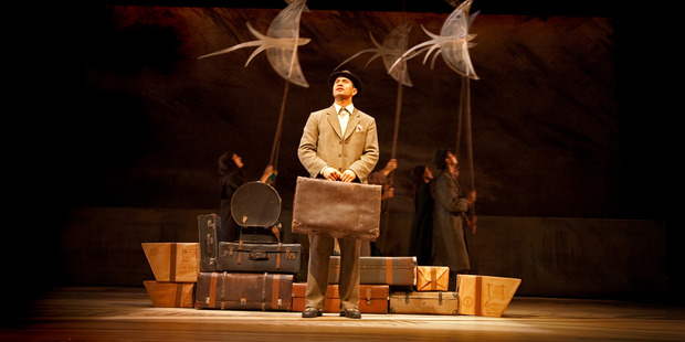 Jared Rawiri in Red Leap's The Arrival. Photo / John McDermott