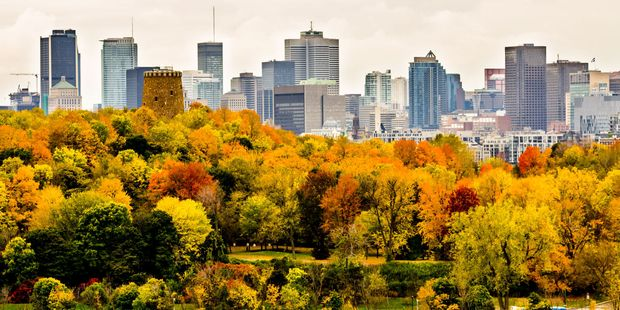 Downtown Montreal, Quebec, Canada. Photo / 123RF