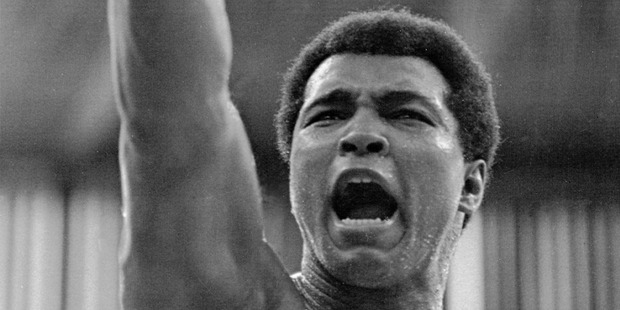 Ali did, arguably, more for the civil rights cause in America than even Martin Luther King. Photo / AP