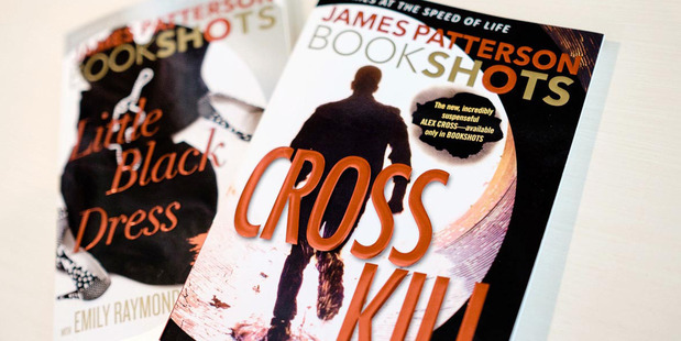 """James Patterson is launching BookShots, a short pulp fiction series tagged as """"Stories at the speed of life"""" and marketed to people who don't read much. Photo / The Washington Post by Chris Sorensen"""