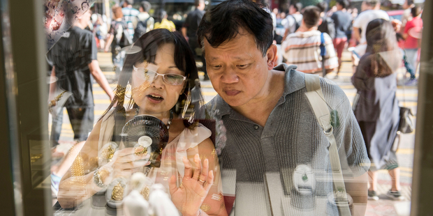 Many Chinese consumers prefer to shop beyond the nation's borders. Photo / Bloomberg