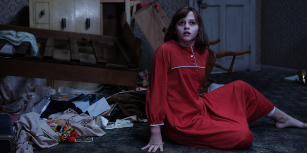 Madison Wolfe as Janet in The Conjuring 2.