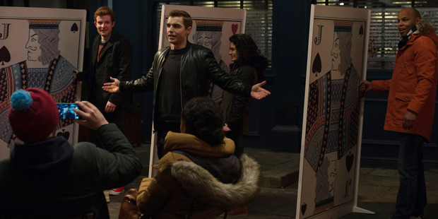 Dave Franco in a scene from the movie, Now You See Me 2.