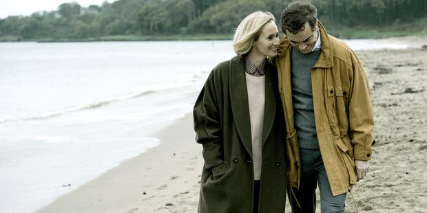 Hazel Buchanan (O'Reilly) and Colin Howell (Nesbitt) star in The Secret.