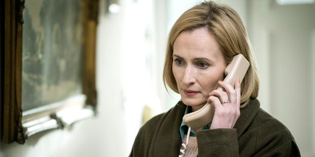 Hazel Buchanan, played by Genevieve O'Reilly in The Secret.