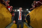 Warren Gatland led the Lions to a series win in Australia in 2013 and may get a chance to repeat the feat in New Zealand. Photo / Getty Images