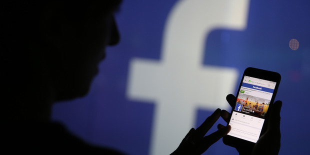 """""""Facebook is tracking you. Things like your contacts and your location. Photo / Bloomberg"""