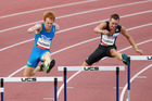 Michael Cochrane (right) in action at the Canberra Track Classic in February, is close to qualifying for Rio. PHOTO/GETTY IMAGES