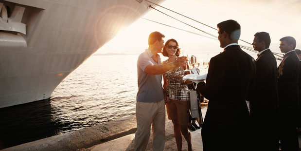 Feeling like a superstar is easy on a cruise, such as the Silversea line's offerings.