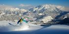 Freeride Hotspot Fieberbrunn, Tirol, Austria.