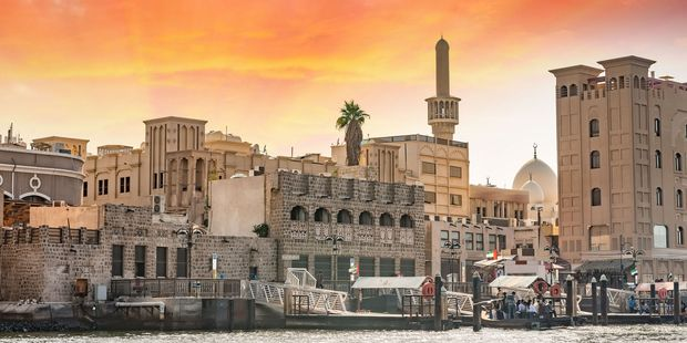 The old buildings of Bastakia. Photo / 123RF