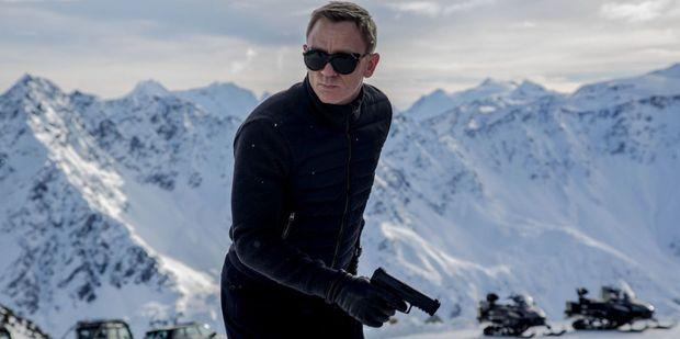 Daniel Craig as James Bond in Spectre.