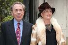 Andrew Lloyd Webber, left, and Madeleine Gurdon. Photo / AP