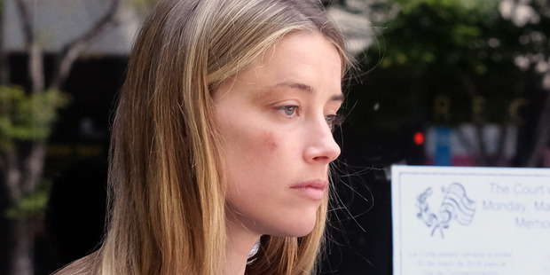 Amber Heard's bisexuality and financial position were reported on when she accused Johnny Depp of abuse. Photo / AP