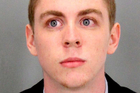This undated booking photo provided by Santa Clara County Sheriff shows Brock Turner. Photo / AP