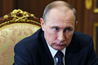 Russian President Vladimir Putin and his government view the Nato exercises as aggressive. Photo / AP
