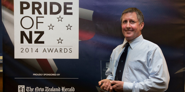 Kaikohe firefighter Tony Scott, pictured receiving a Pride of NZ Award, received a Queen's Service Medal (QSM) in today's honours.