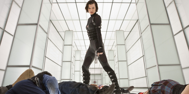 This movie based on a video game Resident Evil: Retribution stars Milla Jovovich.