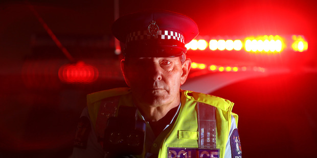Senior Sergeant Ian Campion of Tauranga Police is urging people to pay attention when driving. Photo/file