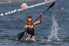 New Zealand kayaker Lisa Carrington. Photo / Brett Phibbs.