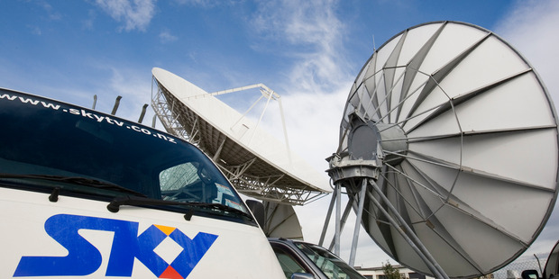 Hopefully, subscribers will see an end to problems with Sky's digital technology through this merger. Photo / Paul Estcourt
