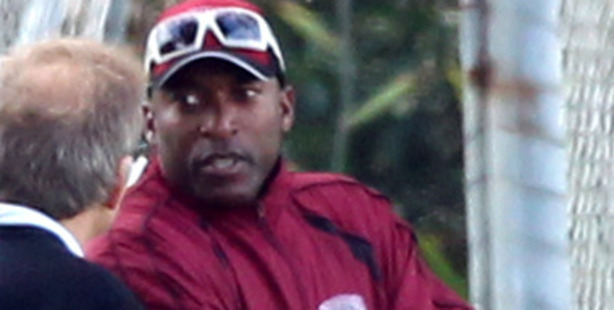 Former West Indian cricketer Franklyn Rose pictured at Keith Hay Park in Auckland. Photo / Janna Dixon