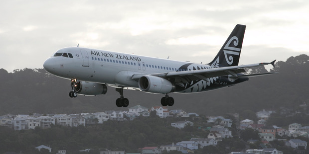 Air New Zealand gained 2.3 per cent to $2.22. Photo / Mark Mitchell