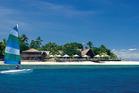 Castaway Island resort in Fiji.