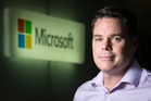 Michael Brick, legal counsel at Microsoft New Zealand. Photo / Greg Bowker.