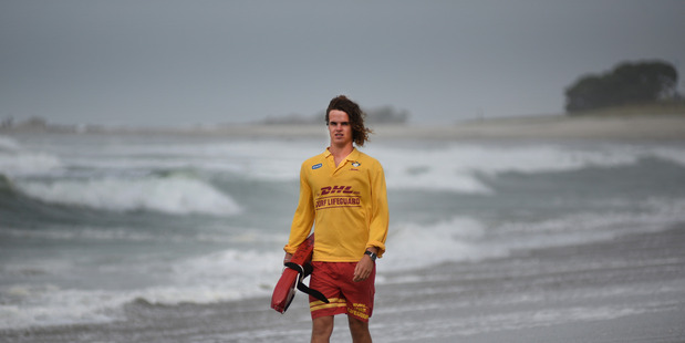 Surf lifesaver Kane Sefton. Photo/file