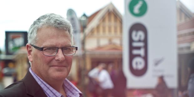 Rotorua i-Site manager Graham Brownrigg.