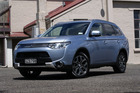 Security experts have found a flaw in the Wi-Fi network of the Mitsubishi Outlander PHEV (Plug-in Hybrid Vehicle). Photo / Supplied