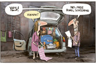 You can't move for the moaners! Can't afford a house this. Sleeping in my car that. Honestly. Illustration / Rod Emmerson