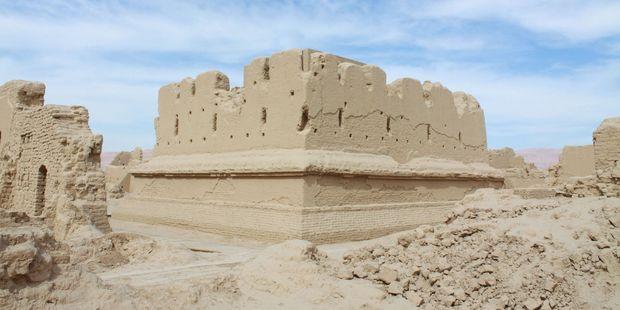 The ruined city of Gaochang, near Turpan, China. Photo / Jim Eagles