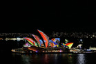 Sydney's Vivid Festival is on until June 18. Photo / Getty Images
