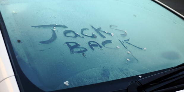 Early morning frost welcomed early risers in the Hawke's Bay. Photo / Paul Taylor