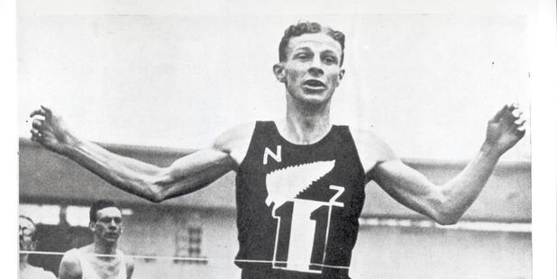 Jack Lovelock winning gold at the Olympics is definitely worth celebrating. Photo / Supplied
